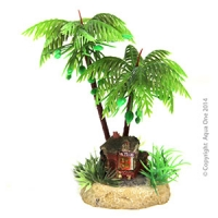 Hermit Crab Palm Tree w/Hut