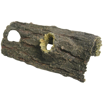 Ornament Log With Two Holes