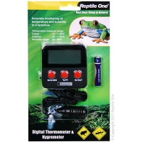 Thermometer Hygrometer Reptile Digital Dual Probe