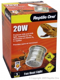 Reptile Fan Heater 20W